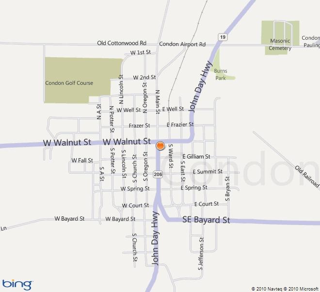 Condon Map