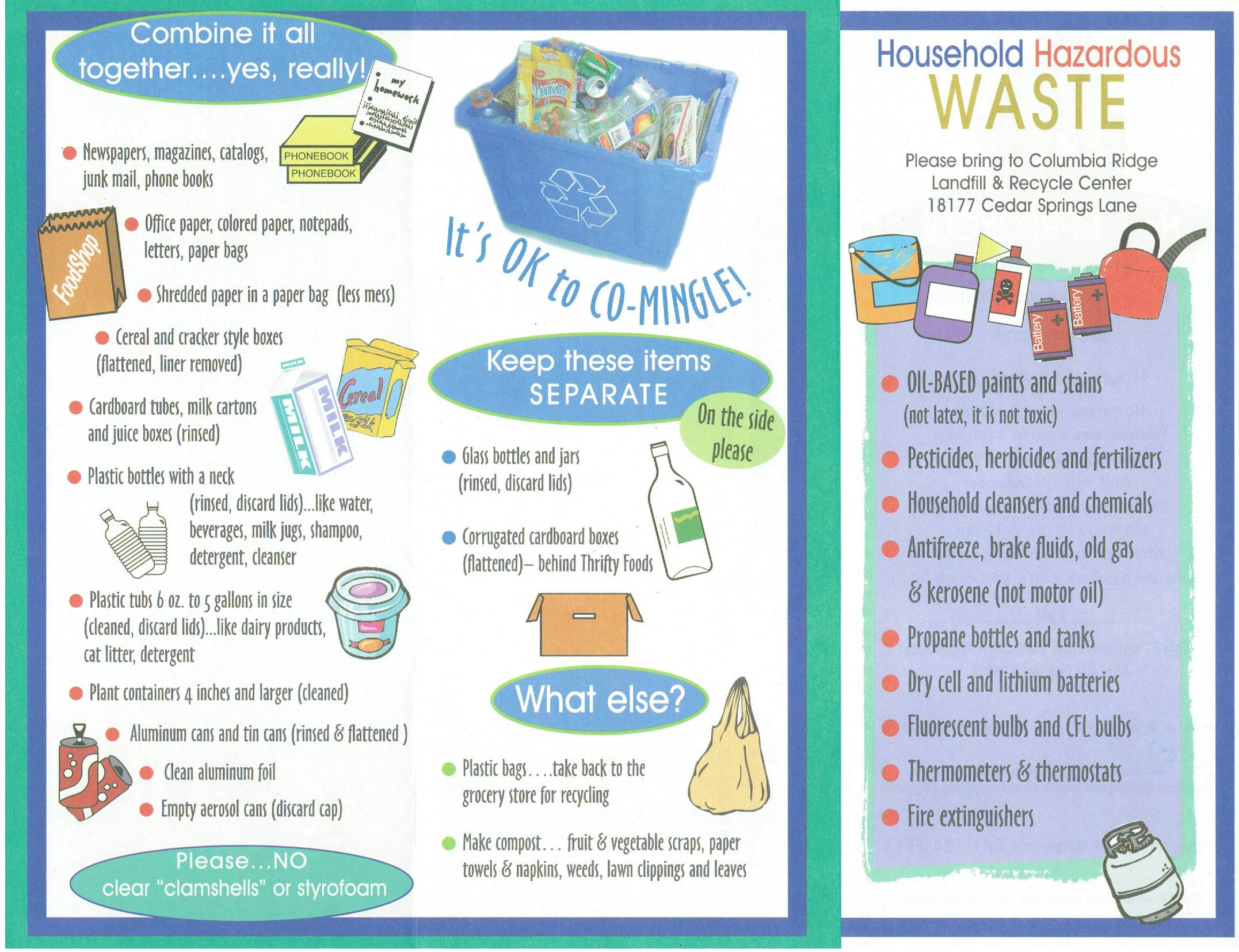 Recycling Brochure p1